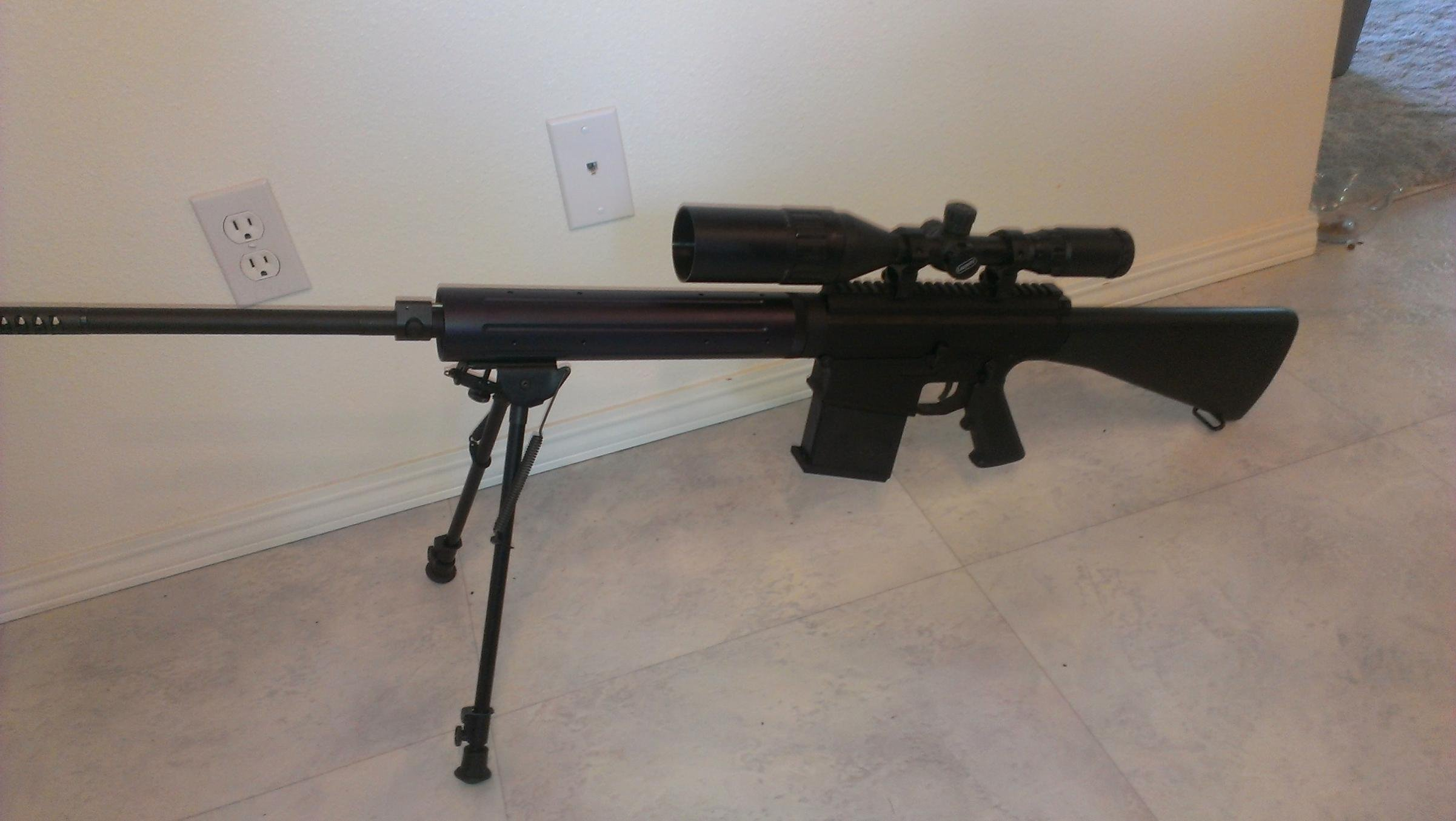 what are your thoughts about the noreen bn36 ar 10 chambered for